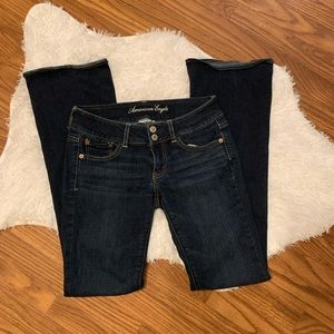 American Eagle Super stretchy flare jeans